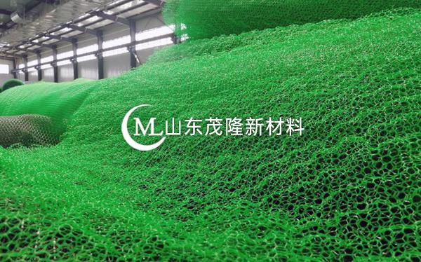 绿色三维植被网产品演示图1