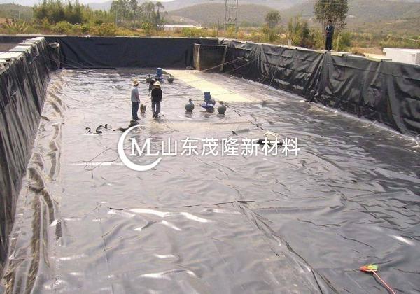 土工膜主要采用双缝焊机进行焊接