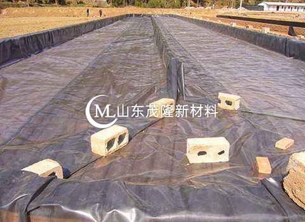 高密度聚乙烯(HDPE )土工膜是垃圾填埋场中应用最广泛的防渗材料