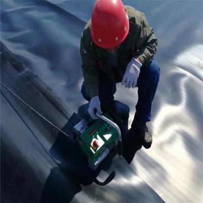 土工膜焊接中的几个重要细节