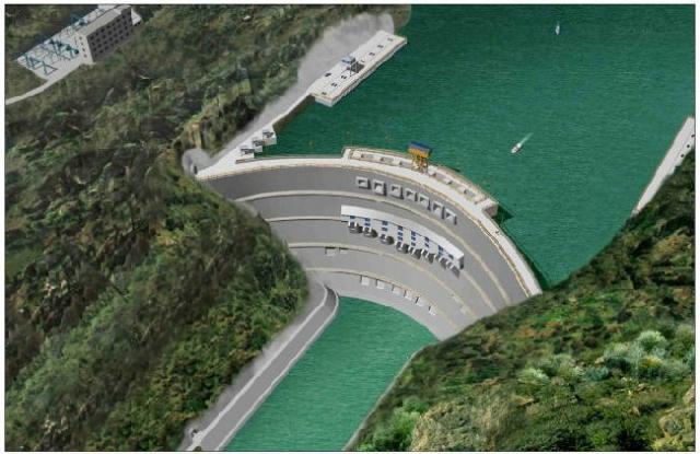 中国第二大水电站——溪洛渡水电站  第1张