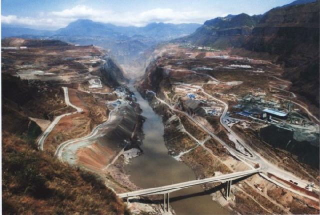 中国第二大水电站——溪洛渡水电站  第2张