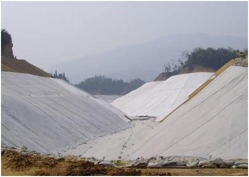 超大型专用土工膜气胀设备解决砂砾地基问题  第2张