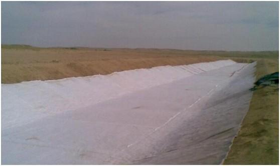 超大型专用土工膜气胀设备解决砂砾地基问题  第3张