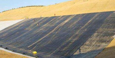 土产厂家介绍土工膜在废物填埋场中的应