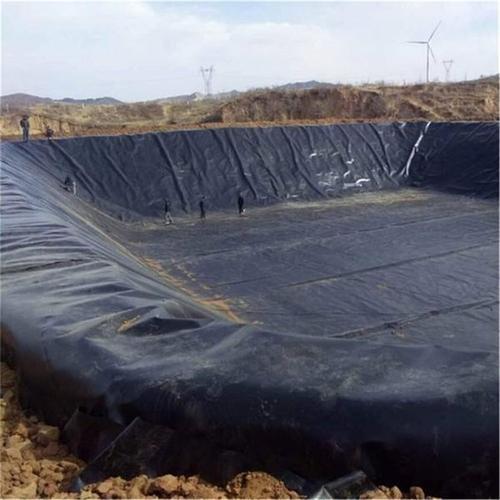 HDPE土工膜沼气池施工方案