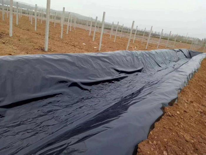 土工膜常用于垃圾填埋场、水库等,其渗透性能