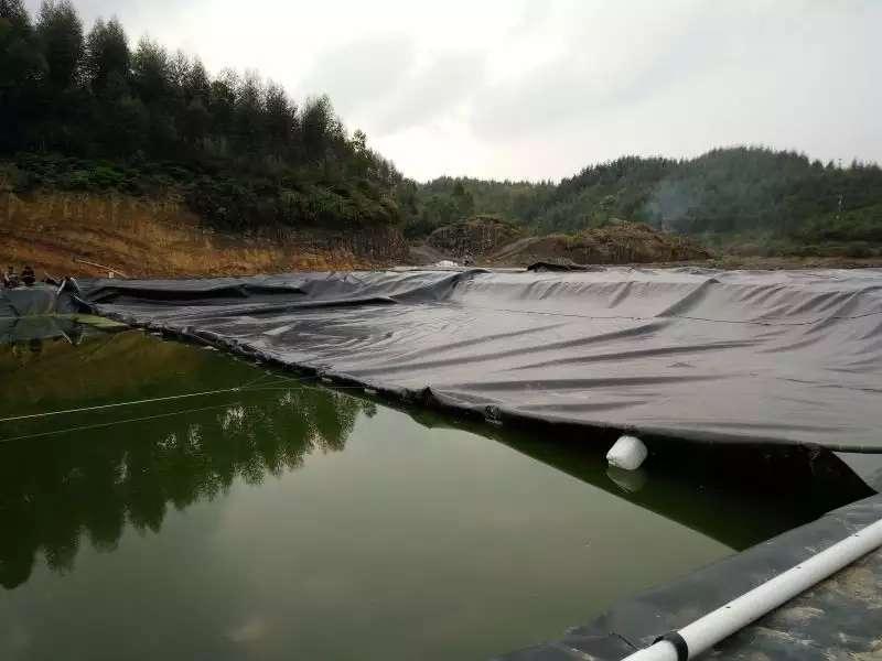 复合土工膜的防渗原理和铺设方式