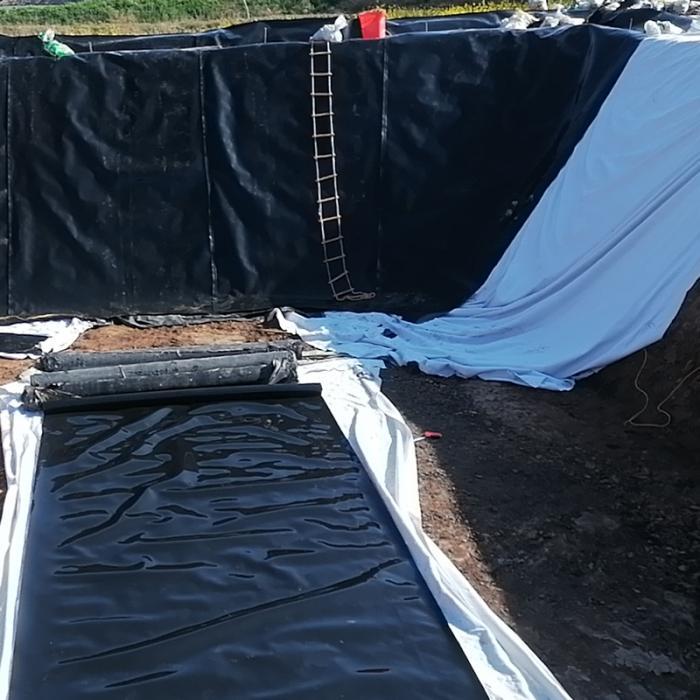 土石坝防渗设计采用土工膜的类型、材质和厚度